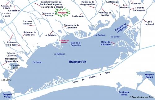 palavas,inondation,étang,mer,littoral,lagune,rivière,canaux